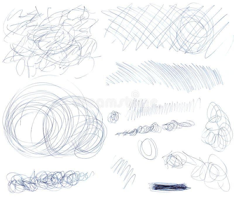 Scribbles 1 бесплатная иллюстрация