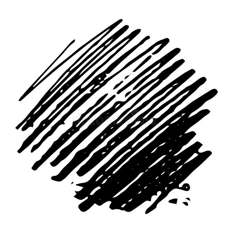 Sketch Scribble Hand drawn Pencil Scribble Stain. Sketch Scribble Smears. Hand drawn Pencil Scribble Stain. Vector illustration stock illustration