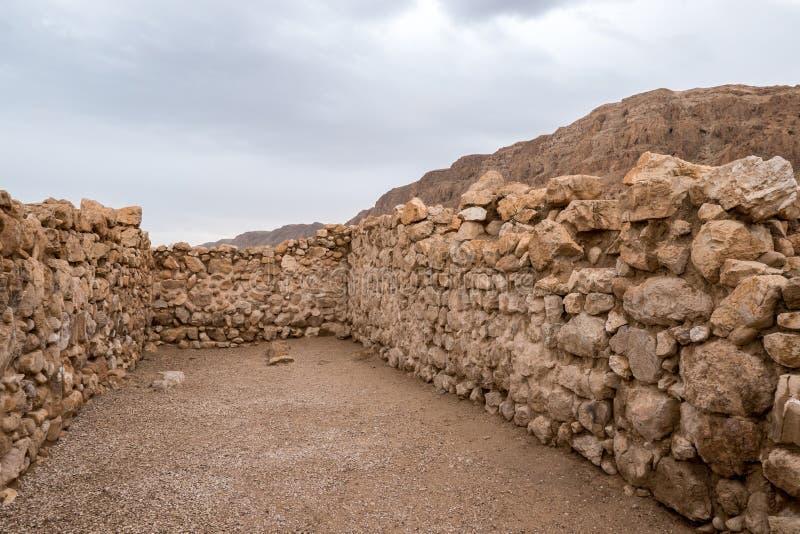 Scriptorium bei Qumran stockbild
