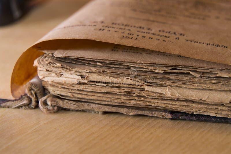 Scripture antigo imagens de stock royalty free