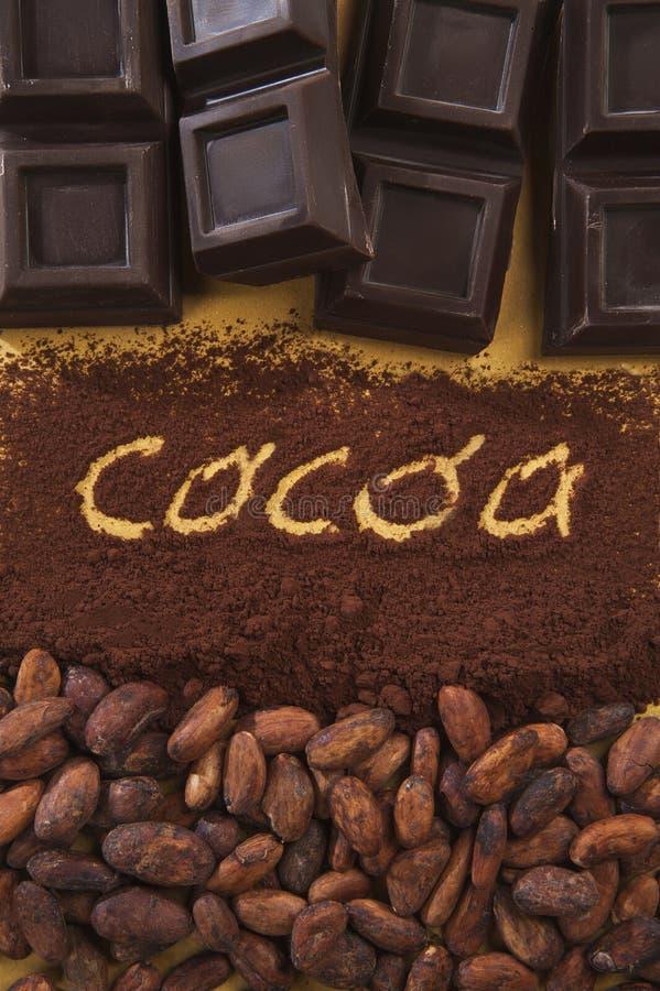 Scritta 2 жулика какао стоковая фотография rf