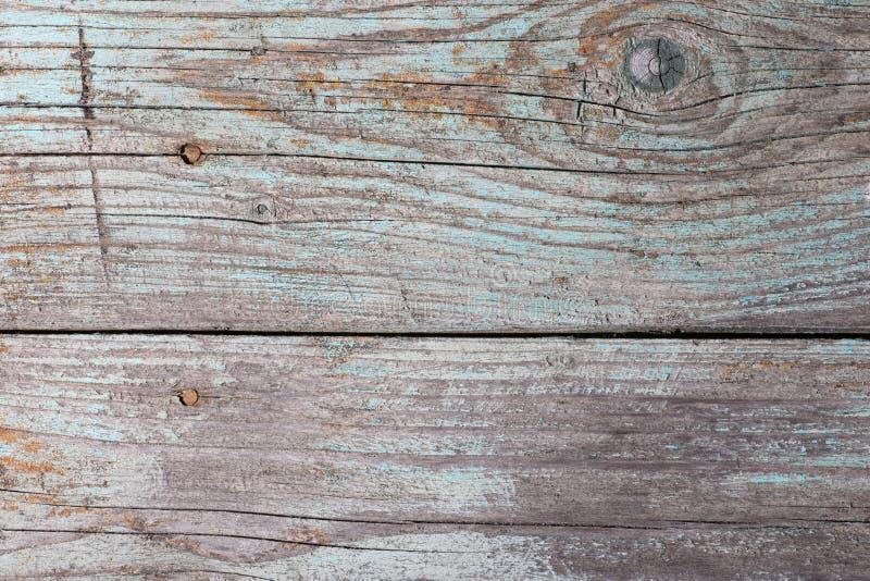 Scrittorio di legno dipinto incrinato stagionato obsoleto immagini stock