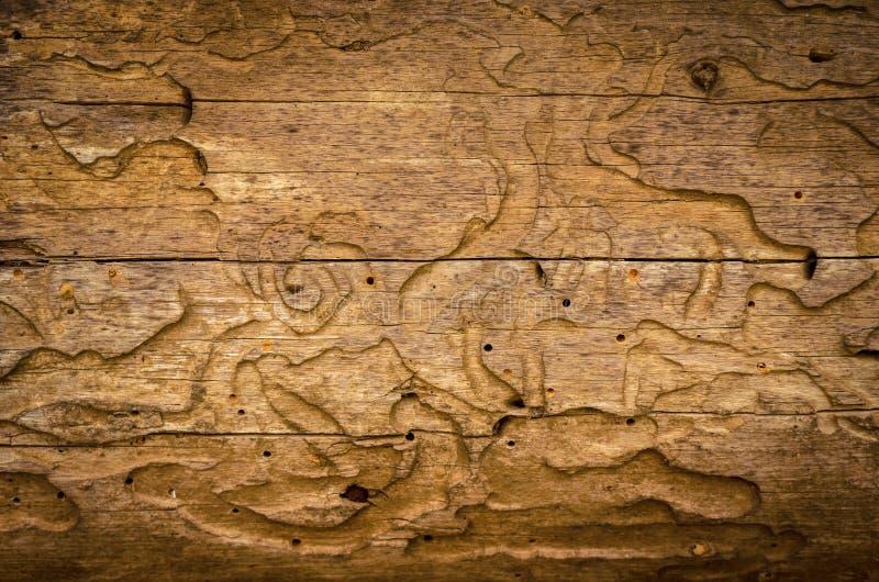 Scrittorio di legno molto vecchio fotografie stock libere da diritti