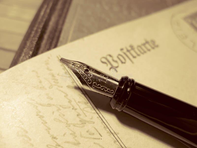 Scrittura fotografie stock libere da diritti