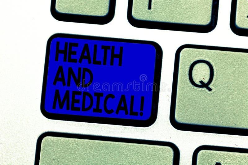 Scrittura della nota che mostra salute e medico Foto di affari che montra l'organismo di circostanza che esegue le sue funzioni fotografia stock