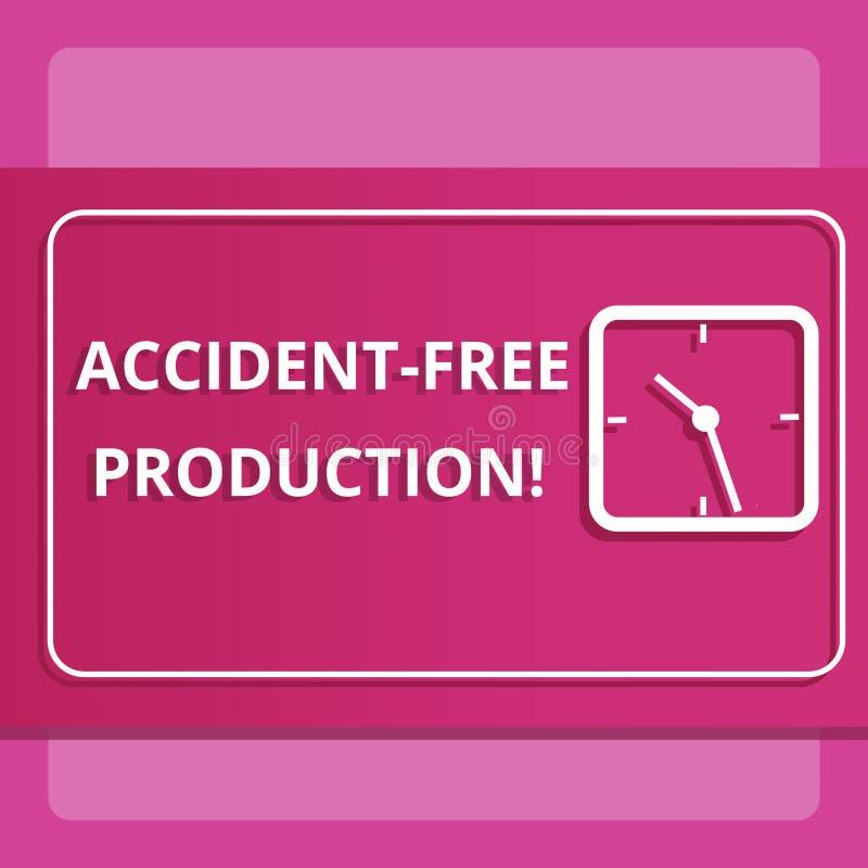 Scrivendo ad incidente di rappresentazione della nota produzione libera Foto di affari che non montra produttività senza lavorato illustrazione di stock