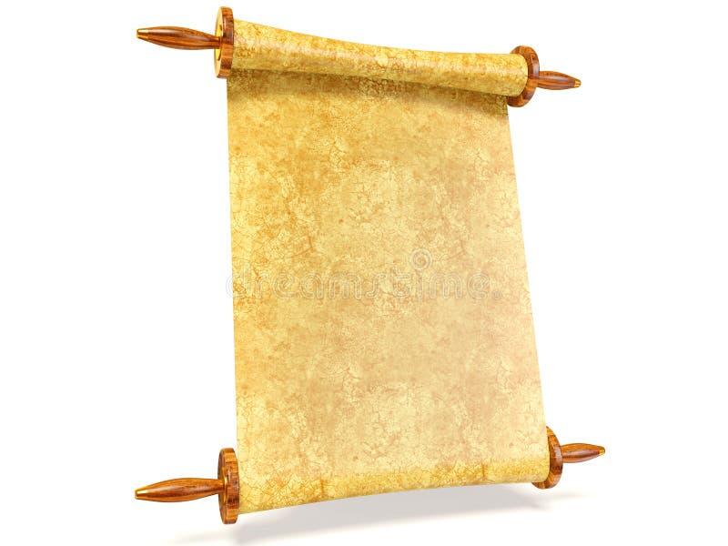 scroll royaltyfri illustrationer