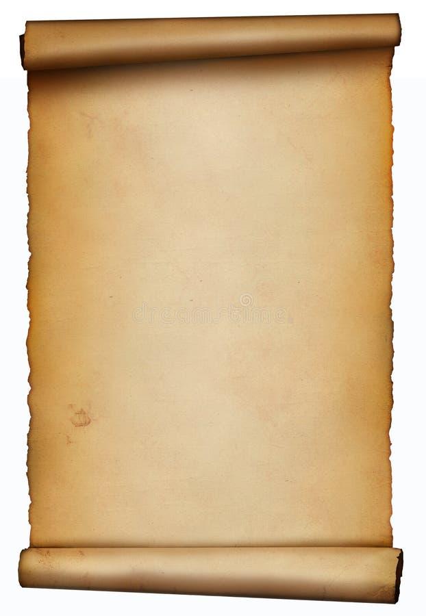 The scroll vector illustration