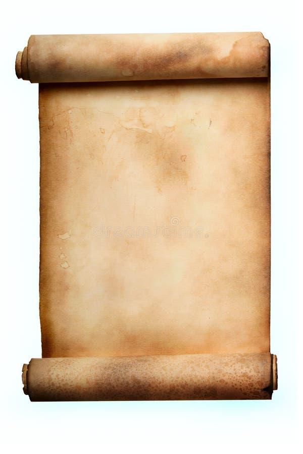 scroll arkivbild