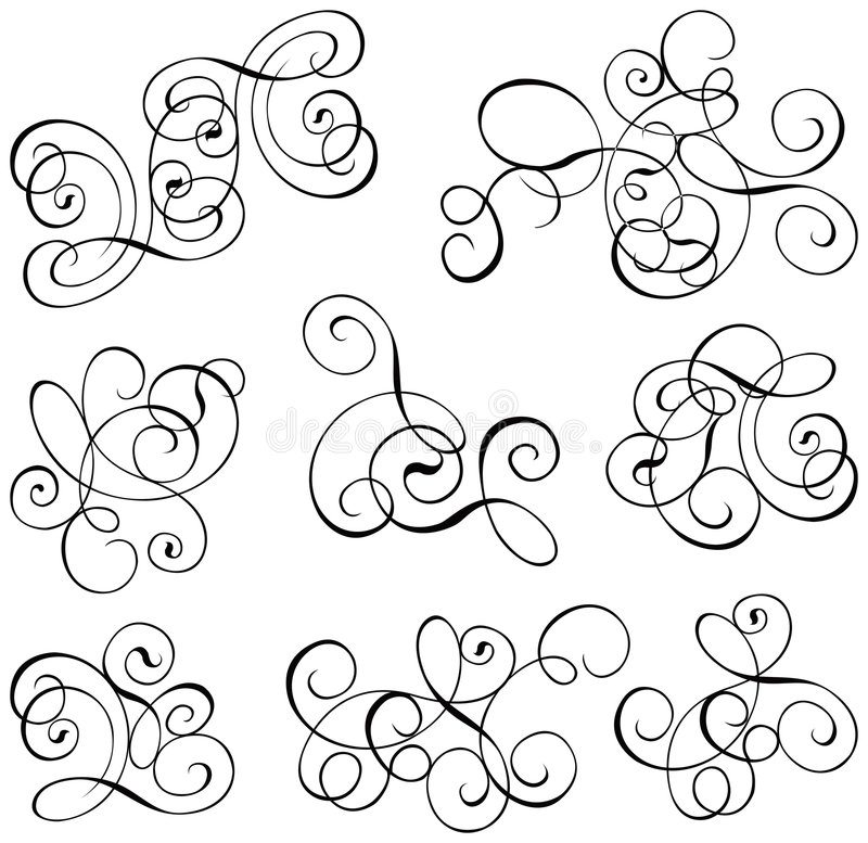 Free Scroll, Cartouche, Decor, Vector Royalty Free Stock Image - 476036