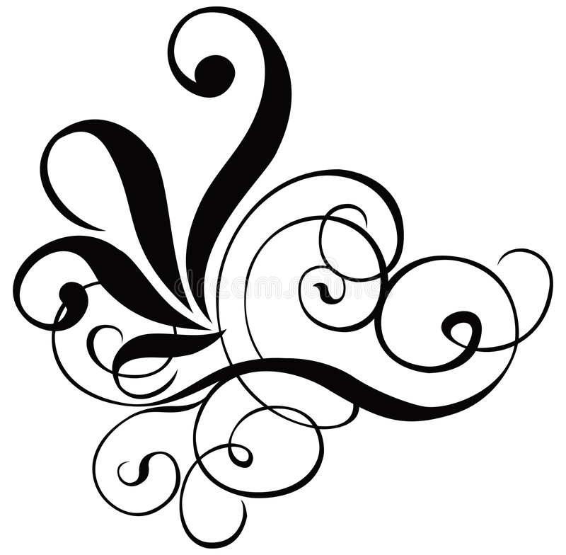 Free Scroll, Cartouche, Decor, Vector Royalty Free Stock Images - 515549