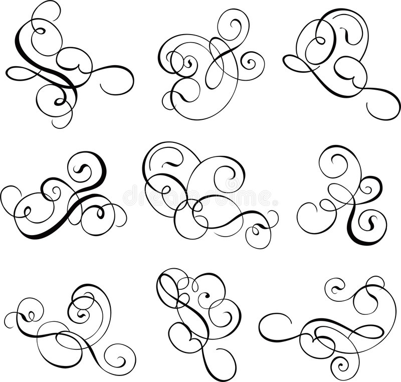 Free Scroll, Cartouche, Decor, Vector Stock Image - 517421