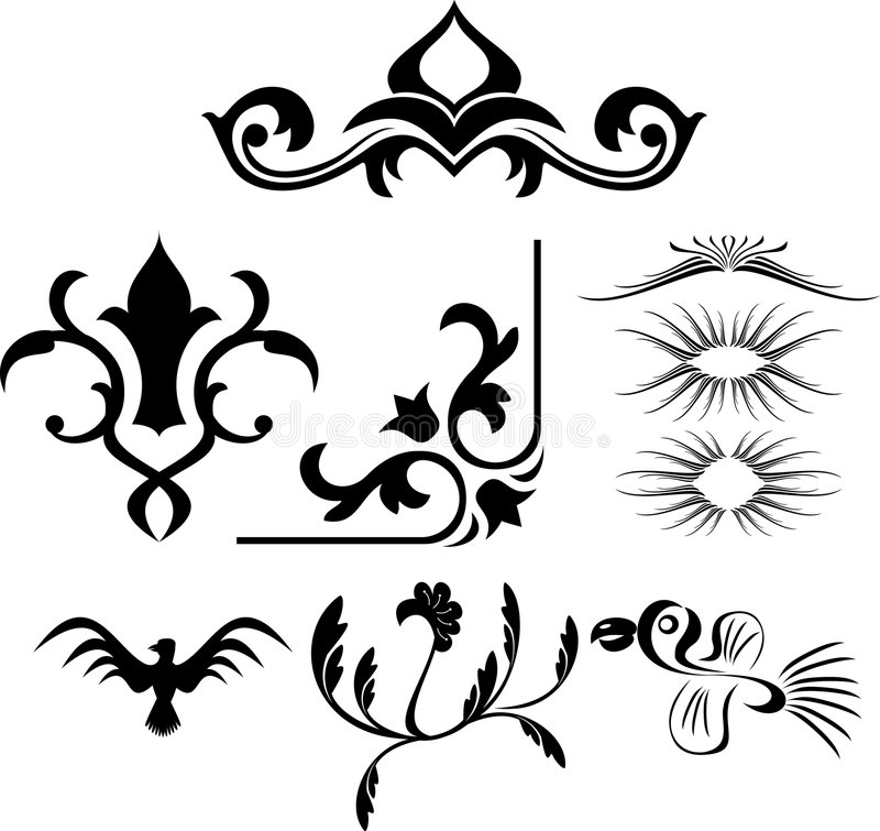 Free Scroll Design Stock Images - 3077944