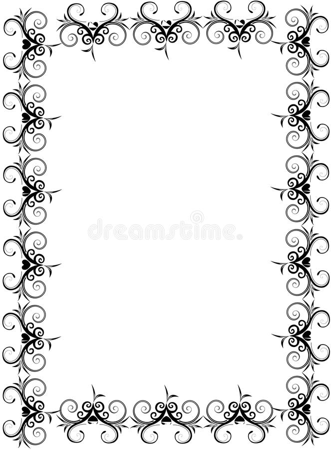 Free Scroll Frame Stock Images - 12798904