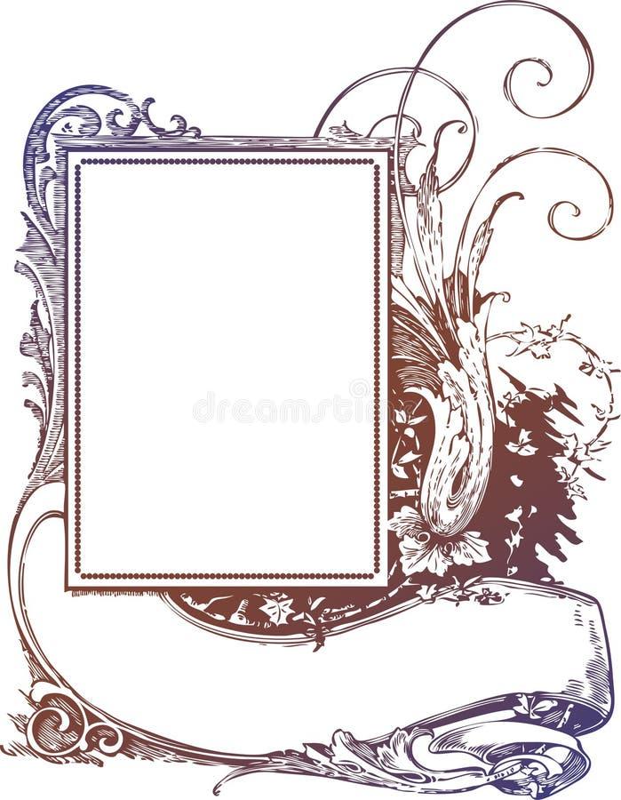 Scroll Frame & Banner Sign stock vector. Illustration of celebration ...
