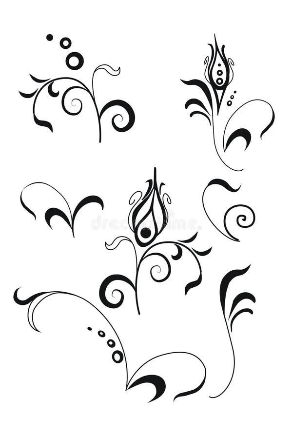 Scrols vector illustratie