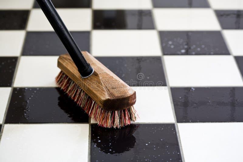 scrubbing стоковая фотография rf