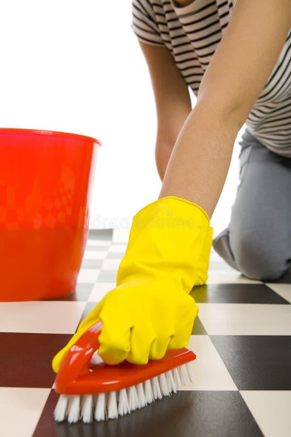 Free Scrubbing Floor Stock Photo - 4494540