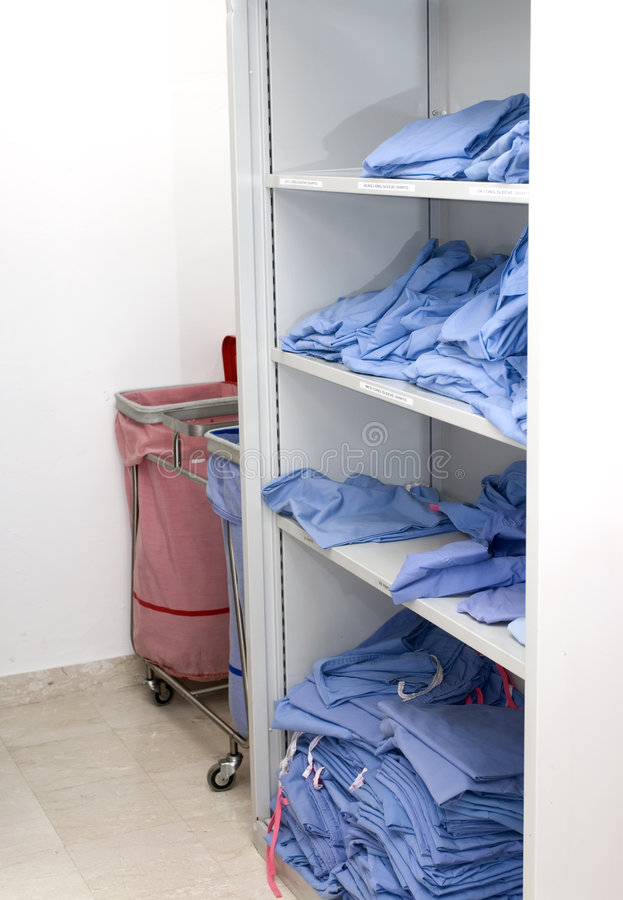 Scrubs room royalty free stock images
