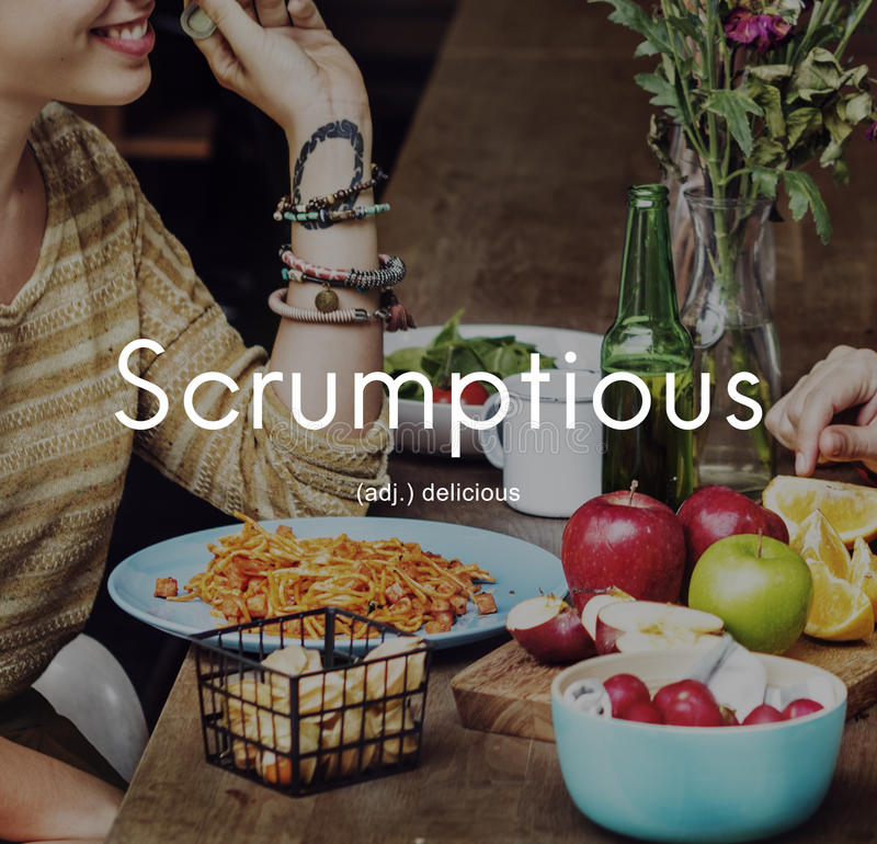 Free Scrumptious Delicious Appetizing Food Graphic Concept Stock Photo - 84464980