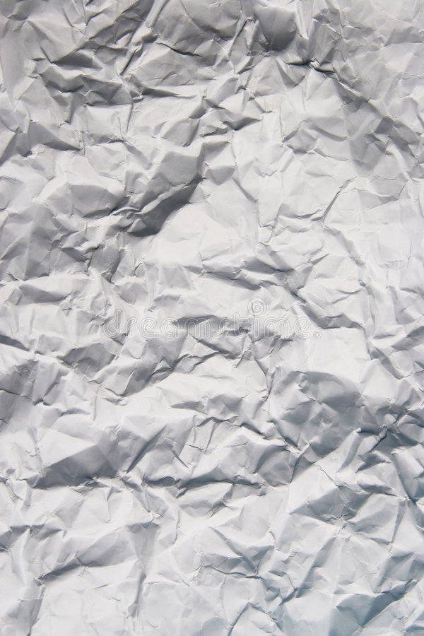 Scrunched paper texture royalty free stock images