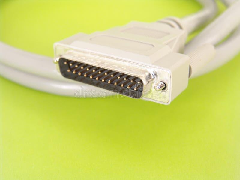 SCSI кабеля стоковое фото rf