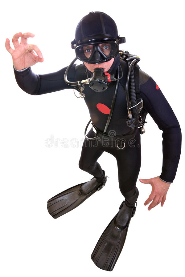 Free Scuba Diver Stock Photos - 24172823