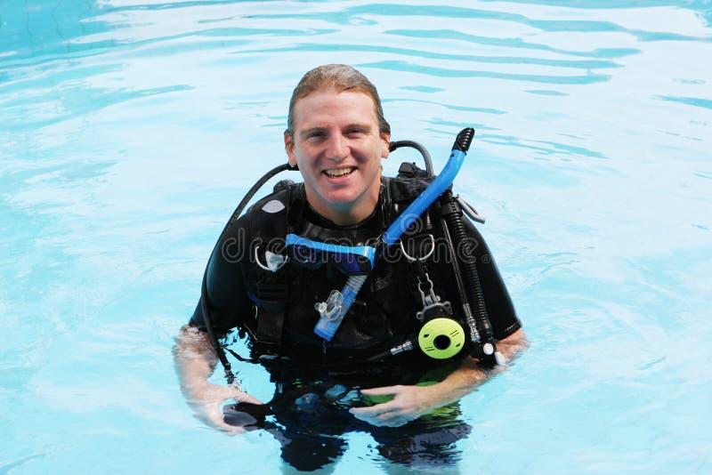 Download Scuba diver stock photo. Image of airtank, aquatic, ascent - 3849390