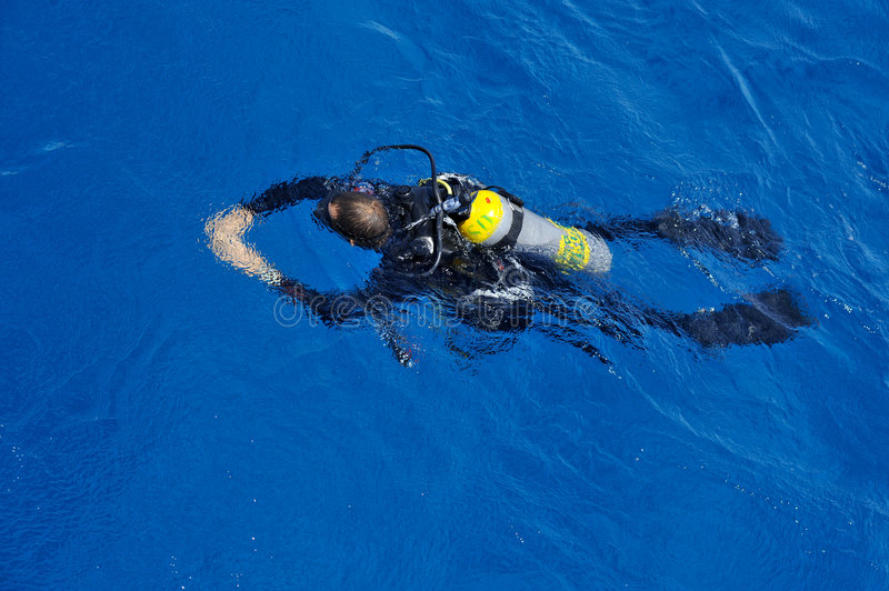 Download Scuba Diver stock photo. Image of ocean, sport, swim, sports - 6122514