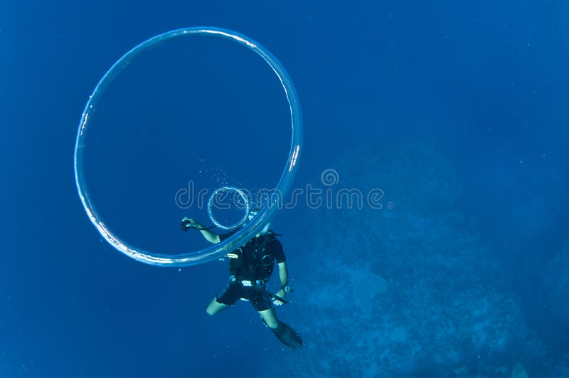 Scuba Bubble Rings