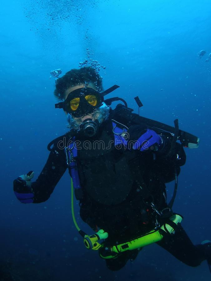Scuba diving. A great hobby is scuba diving off the south Florida coast in 65 ft of water
