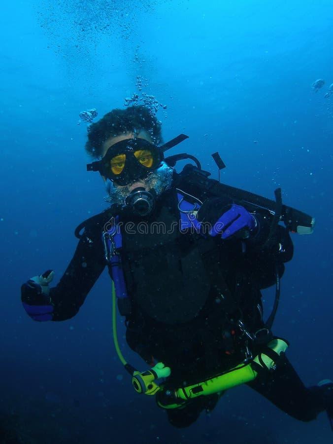 Scuba diving stock image