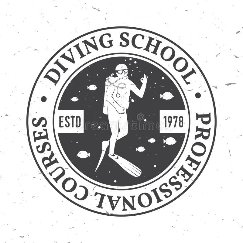 Download Scuba diving school. stock vector. Illustration of ocean - 90715706