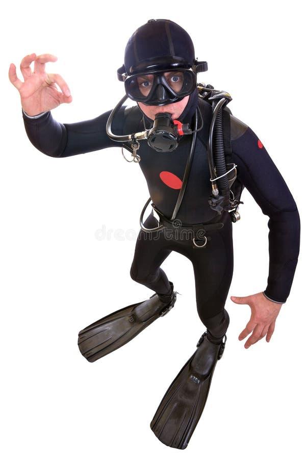Scuba-duiker
