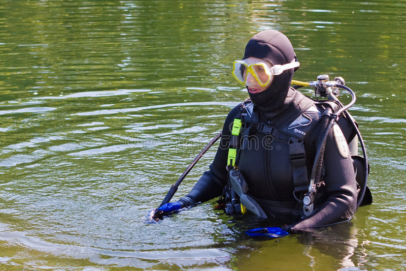 Download Scuba Series stock image. Image of lake, goggles, dive - 2962249