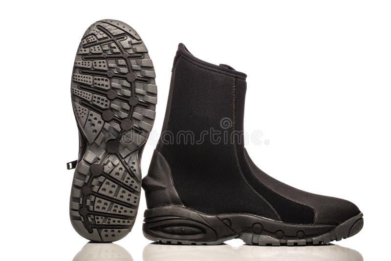 Scuba wet boots