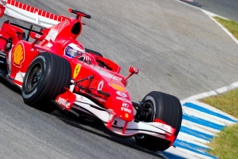 Scuderia Ferrari F1, Marc Gene, 2006 imágenes de archivo libres de regalías