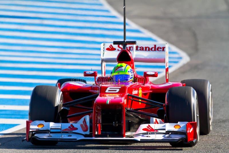 Scuderia Ferrari F1, Felipe Massa, 2012 stock image