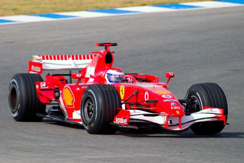 Scuderia Ferrari F1, gene de Marc, 2006 imágenes de archivo libres de regalías