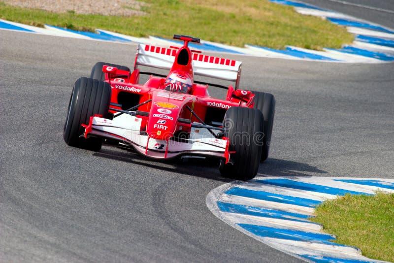 Scuderia Ferrari F1, gene de Marc, 2006 imagen de archivo libre de regalías