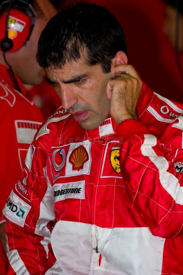 Scuderia Ferrari F1, Marc-Gen, 2006 stockfotografie