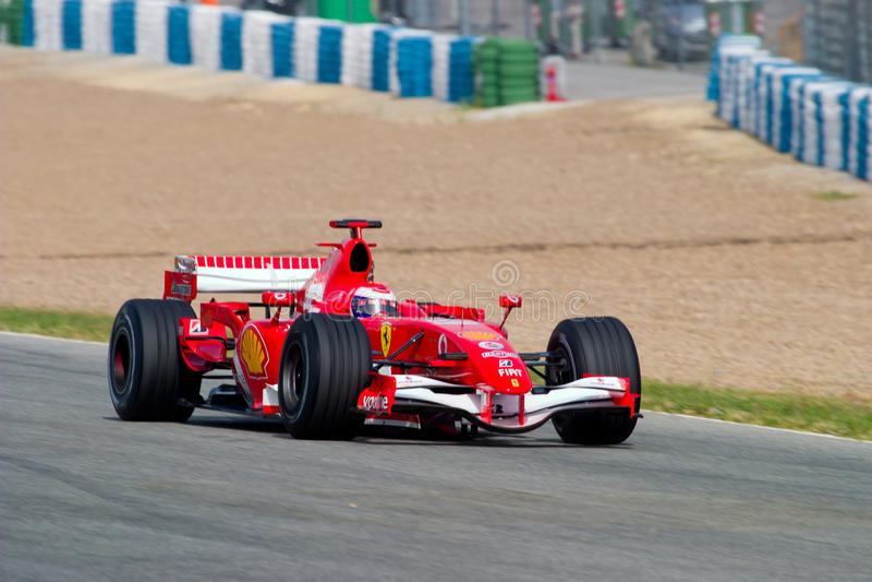 Scuderia Ferrari F1, Marc gen, 2006 arkivbild
