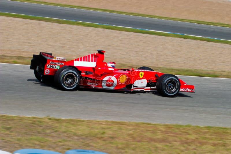 Download Scuderia Ferrari F1, Marc Gene, 2006 Editorial Photo - Image: 21245916