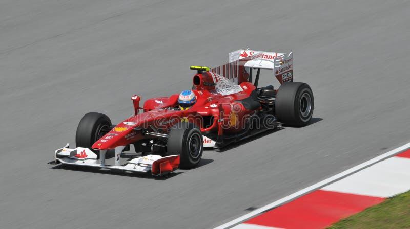 Scuderia Ferrari Marlboro driver Fernando Alonso stock photo
