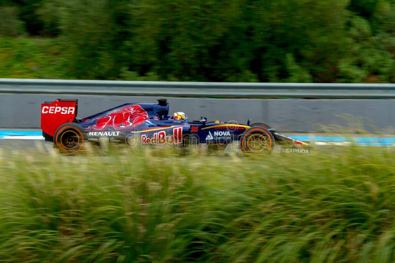 Scuderia Toro Rosso F1 Team, Carlos Sainz, 2015 stock images