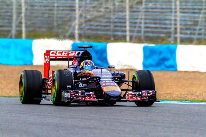 Scuderia Toro Rosso F1 Team, Carlos Sainz, 2015 stock photography