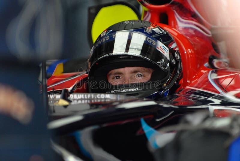 Scuderia Toro Rosso STR2 Scott imagens de stock royalty free