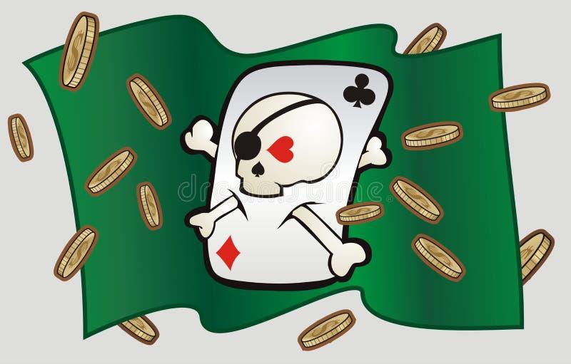 Scull del casino libre illustration