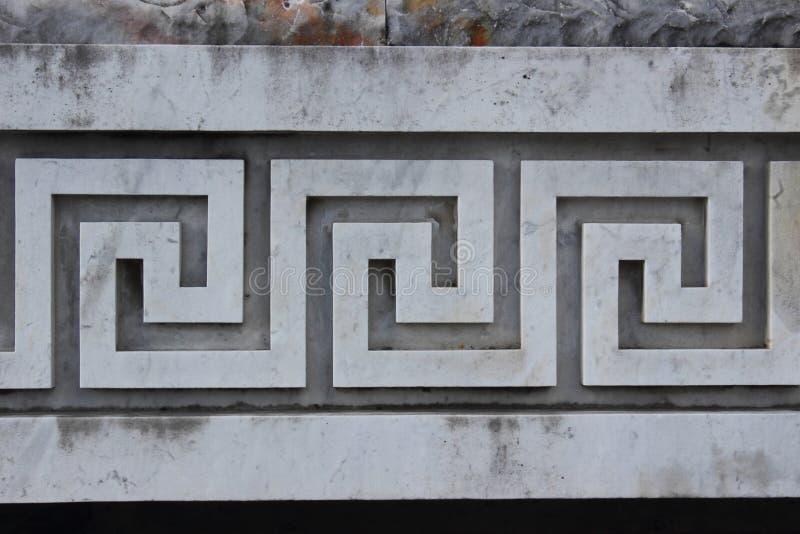 Décoration du grec ancien photo stock. Image du décoratif - 30284464