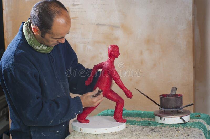 Sculpteur images stock